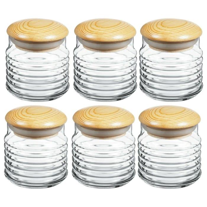 Babylon 630ml Storage Jar (Set of 6)