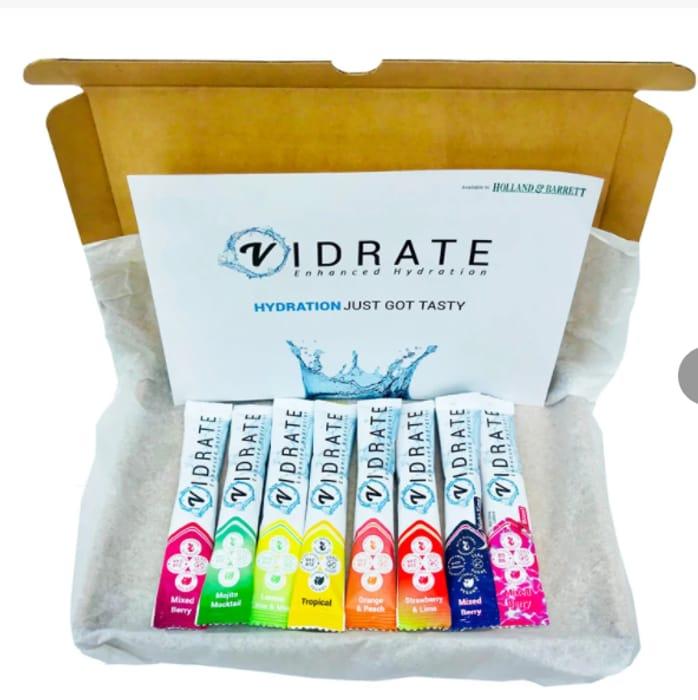 Free ViDrate Taster Pack - 8 Sachets