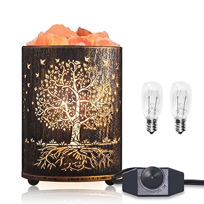 DEAL STACK - Himalayan Salt Lamp, Tree of Life + 40% Coupon