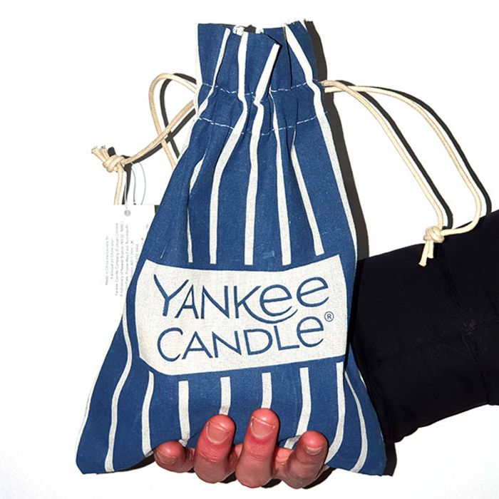 CHEAP! Official Yankee Candle Pick N Mix Cotton Striped Gift Bag Only