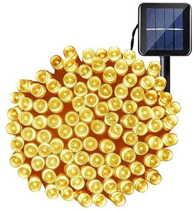 Outdoor Garden OxyLED 22M 200 LED Solar Powered Fairy Lights - Only £6.49!