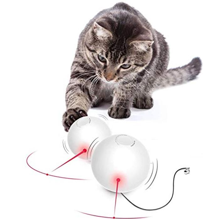 CHEAP! Automatic Interactive Cat Toy Ball With Discount Code