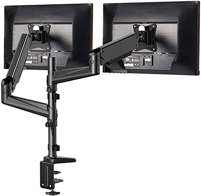 Aluminum Dual Monitor Stand for Two Screens