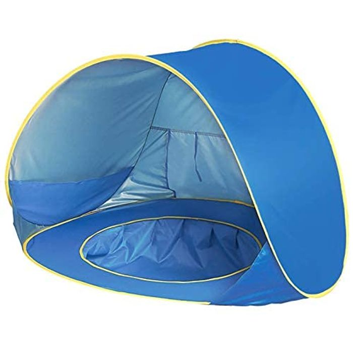 UPF 50+ Pop up Beach Tent, Portable Baby Sun Shelter - Only £9.45!
