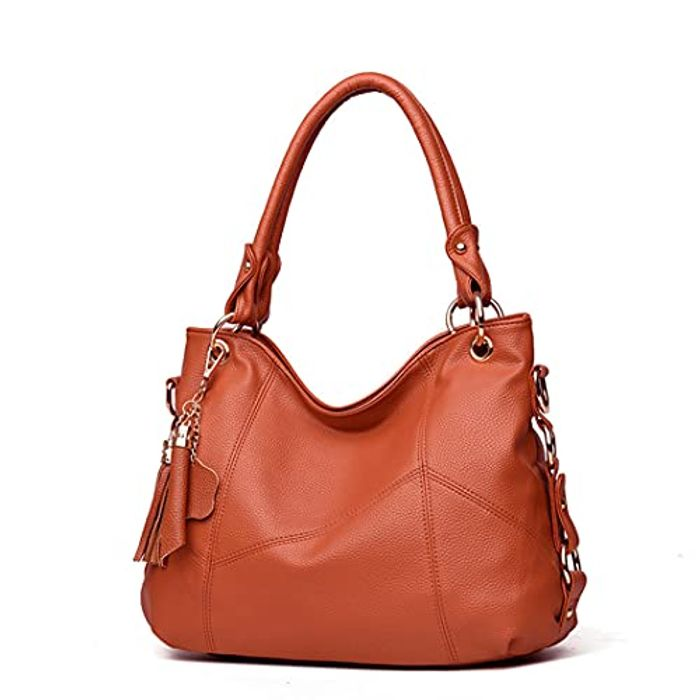 Shoulder Bags with Soft Leather,Crossbody Satchel - Only £10.39!