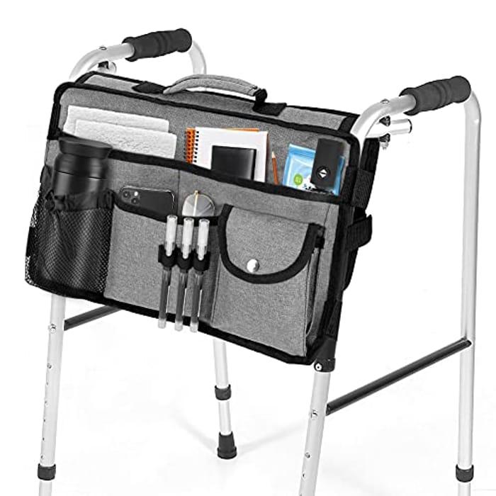 Walker Bag, Maxjaa Portable Foldable Hands Free Walker - Only £4.80!