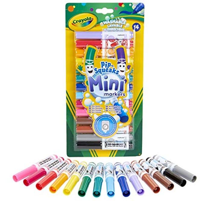 Cheap Perfect for Little Hands Mini Felt Pens - Only £2.99!