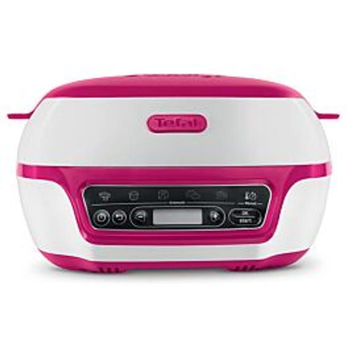 *HALF PRICE* Tefal Cake Factory Precision 1100W Baking Machine Pink & White
