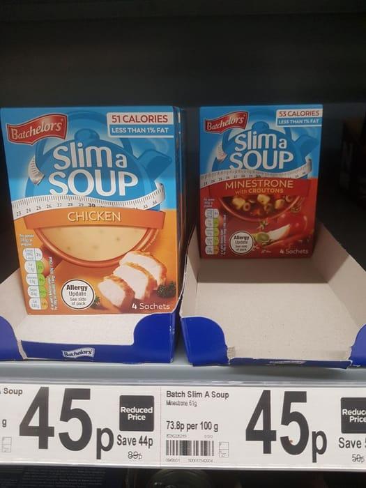 Batchelors Slim a Soup Minestrone  61g