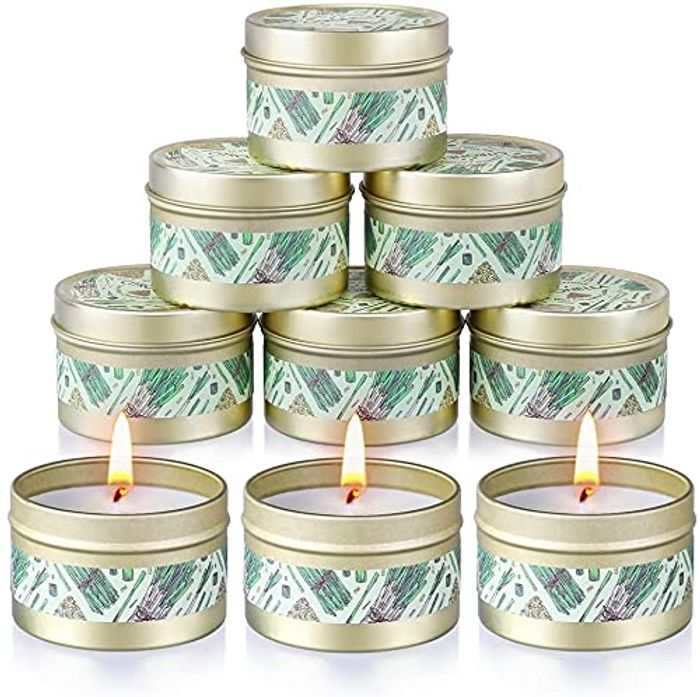 DEAL STACK - OFUN Outdoors Large Scented Natural Soy Wax Citronella Candles Set