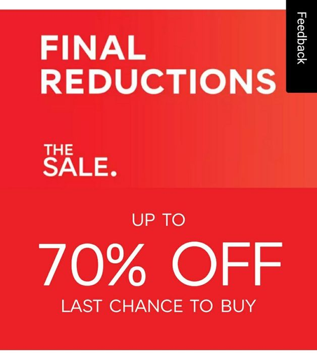 Marks & Spencer - Up To 50% Final Clearance Reductions + Free C&C