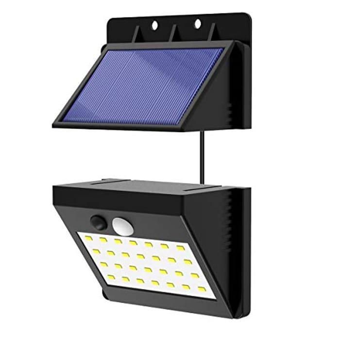 28 LED Separable Solar Lights Motion Sensor Security Light