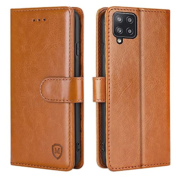 Leather Flip Folio Stand View Cover Case with Card Slots with £8 off Coupon