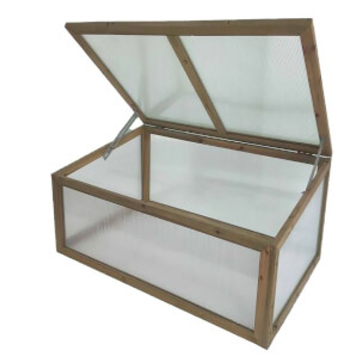 Save £30 - Wooden Cold Frame For Plants & Seeds - £19 + Free C&C