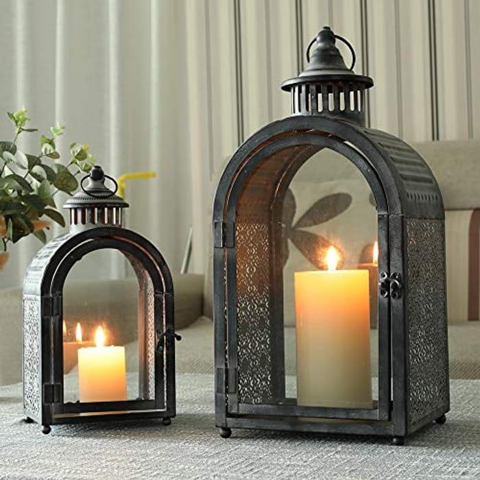 Candle Lantern, Set of 2