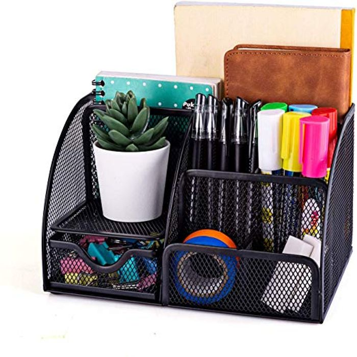 New Office Storage Simple Houseware Mesh Desk - Only £6.40!