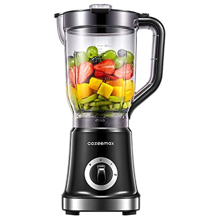 Cozeemax Blender Smoothie Maker, 1.8L Professional Countertop - Only £24.99!