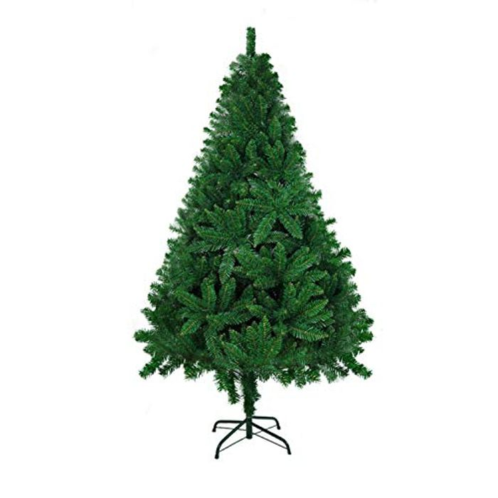 6ft Artificial Christmas Tree with 700 Tips Green Xmas Tree