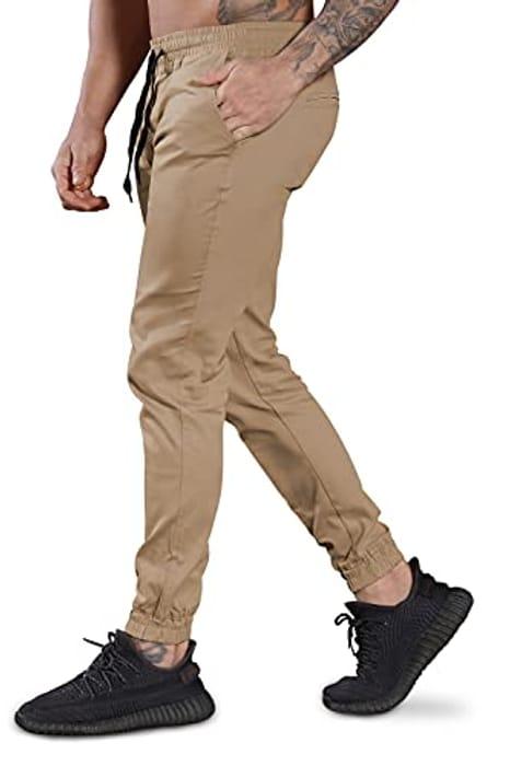 Men's Pants Chino Jogger Sport Sweatpants