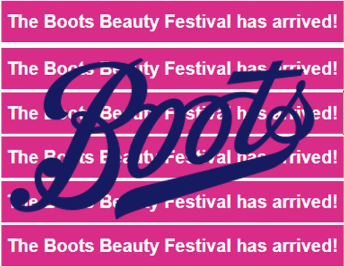 Boots Beauty Festival - 13th-16th August - LOADS OF OFFERS!