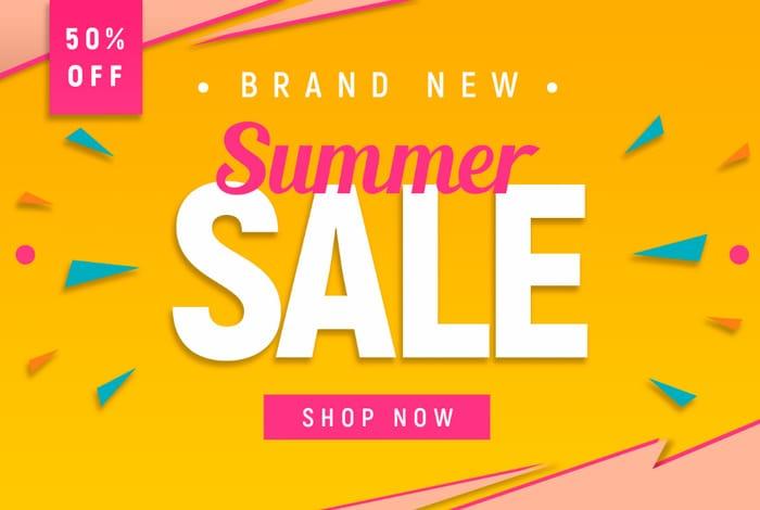 Half price Summer Sale at Everything £5