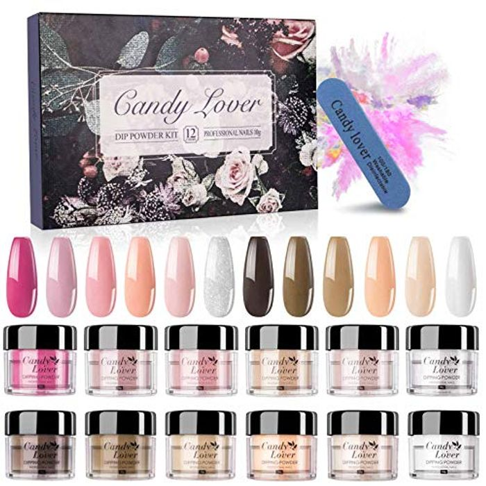 Neutral Dipping Powder Nail Kit - Candy Lover Dip - Only £6.99!