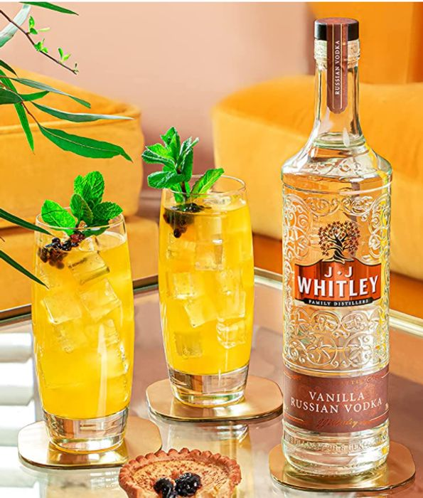 J.J. Whitley Vanilla Russian Vodka, 70cl