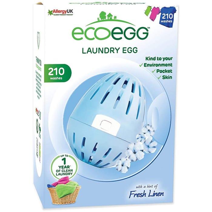 Eco Egg Laundry Egg 210 Washes: Fresh Linen