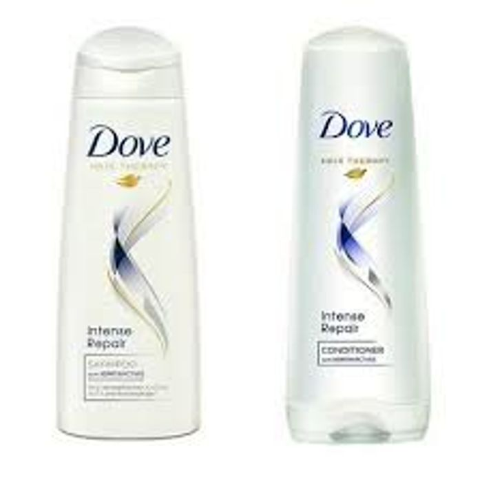 Now £1.79 on Dove Intensive Repair Shampoo & Conditioners
