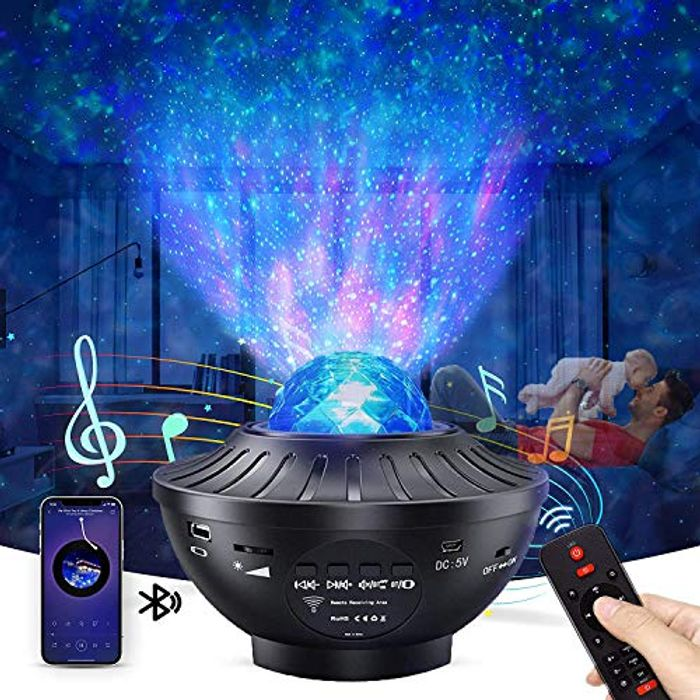 Sky Light Projector with Remote Control & Bluetooth Speaker