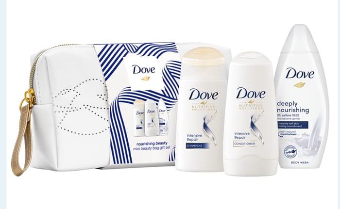 Dove Nourishing Beauty Mini Beauty Bag Gift Set £3.99