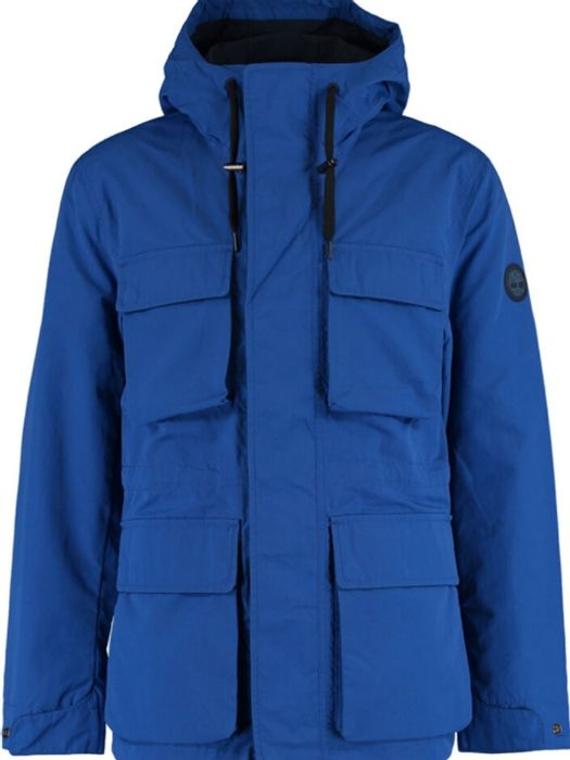 TIMBERLAND Blue Rain Coat