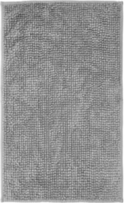 Grey Chenille Bathmat