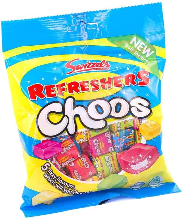 Swizzels Refreshers Choos Sharing Bag, 150g