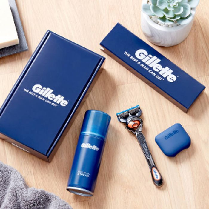 Free Gillette Shave Kit (£3.95 For Shipping)