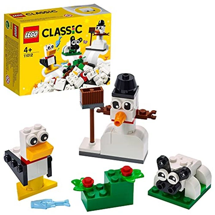 LEGO Classic Creative White Bricks Starter Building Set