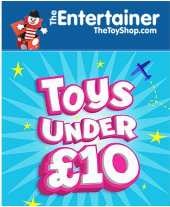 Special Offer! The Entertainer - 300+ TOYS under £10 / Up to 70% OFF /