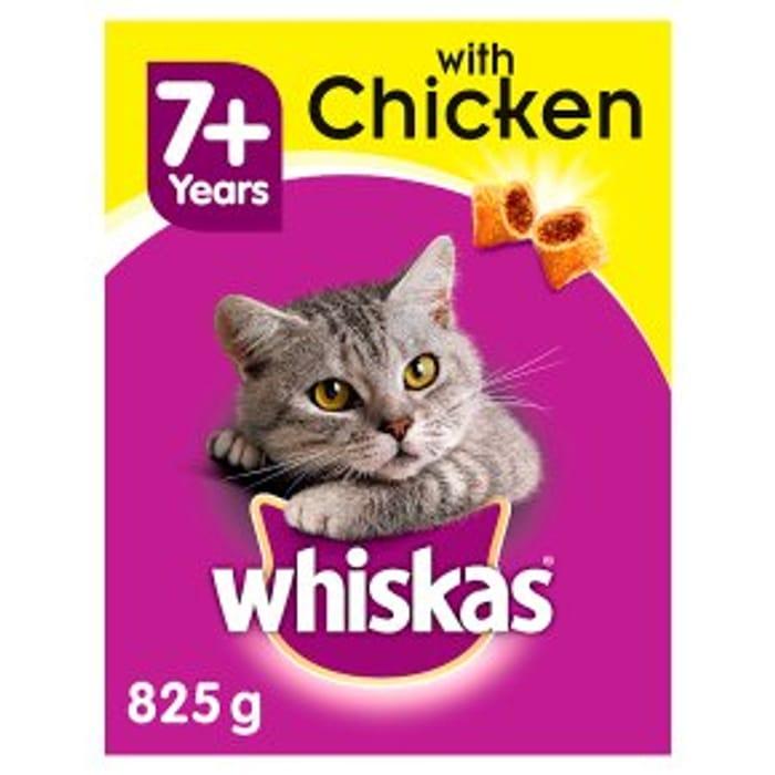 Whiskas Senior with Chicken825g