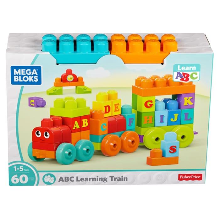 Mega Blocks Abc Learning Train (Clubcard Price)