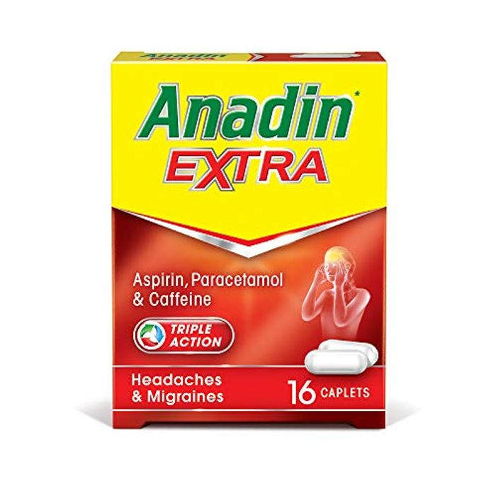 Anadin Extra for Headaches & Migraines X16