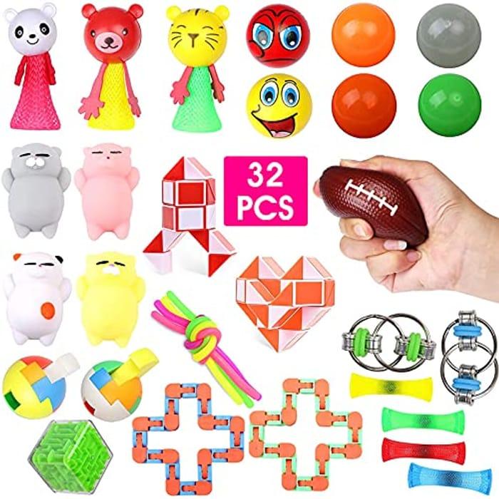 Sensory Fidget Toys Set 32 PCS