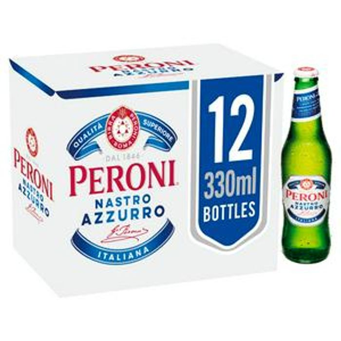 Peroni Nastro Azzurro Lager 12x330ml