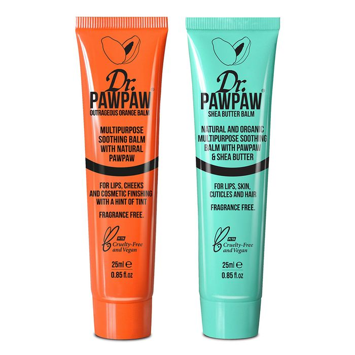 Dr.PAWPAW 1 X Outrageous Orange Balm 25ml + 1 X Shea Butter Balm 25ml