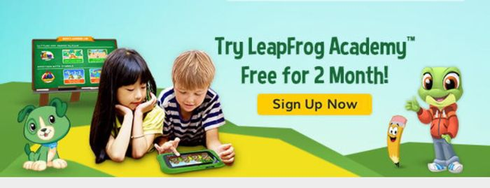 Free 2 Months Leapfrog Academy Trial