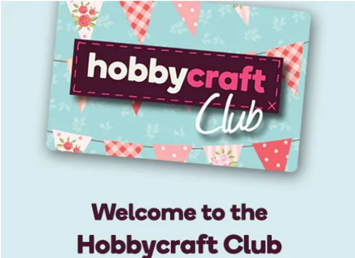 £5 Voucher on Your Birthday When You Sign up to Hobbycraft Club