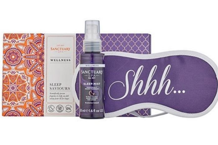 Back in STOCK Sanctuary Spa Sleep Saviours Gift at Superdrug.