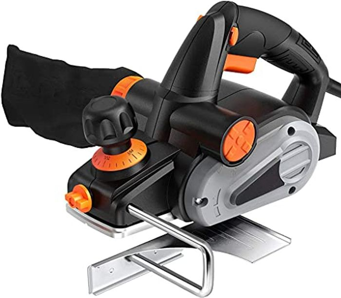16500RPM 710W Electric 2mm Adjustable Hand Planer Tool - Only £24.99!