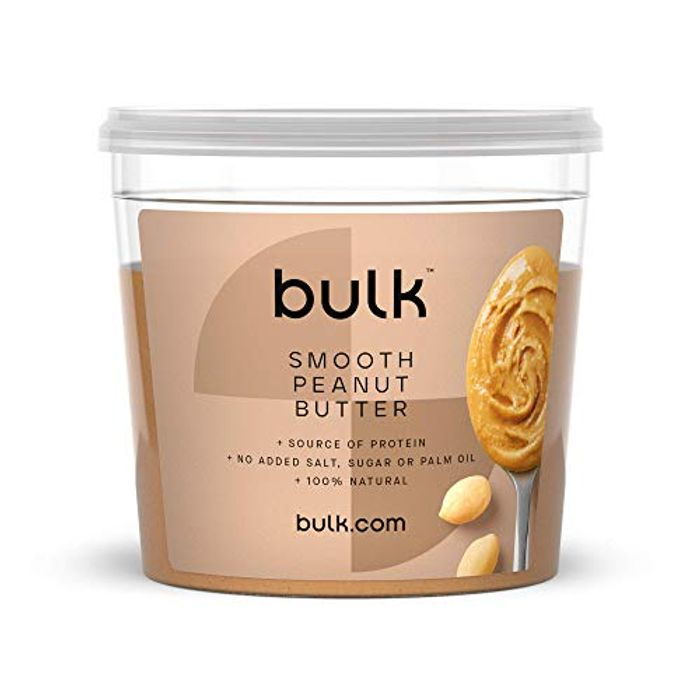 Bulk Natural Roasted Peanut Butter Tub, Smooth or Crunchy 1 Kg