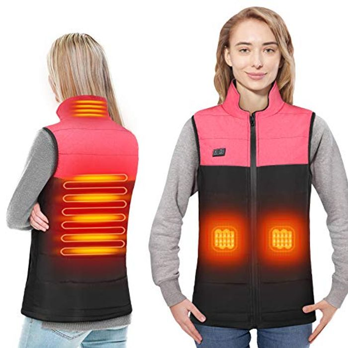 DOACT Women's USB Charging Lightweight Padded Jacket - Only £7.30!