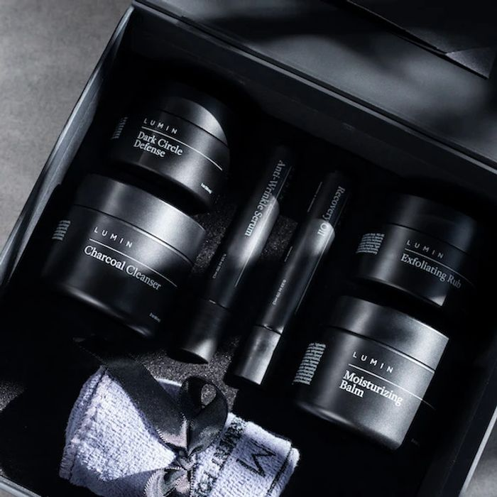 FREE Lumin Men's Skincare Set worth up to £50 for Free